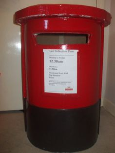 DIY Post Box For Wedding Cards