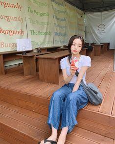 Hwa Min, Son Hwamin, Mode Ulzzang, Uzzlang Girl, Grunge Girl, Girl Model, Korean Girl, Photography Poses, Asian Beauty