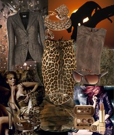"""""""Animal Print"""" by gangdise on Polyvore"""