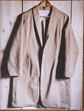 Haremere 'boyfriend' jacket or coat, with shawl collar, side panels, 2-piece sleeves, lined patch pockets, buttonholes, partial lining, in Workbook Merchant And Mills, Side Panels, Buttonholes, Shawl, Boyfriend, Pockets, Blazer, Patterns, Coat