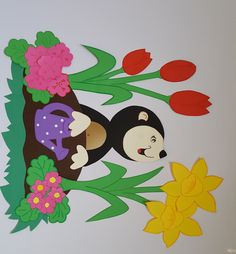 Minnie Mouse, Disney Characters, Fictional Characters, Disney Princess, Craft, Spring, Bricolage, Autumn, Decorations