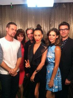 #Nikita crew rockin' it at Comic Con