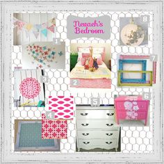 Mood Board Monday: Inspiration for a Fabulous Little Girl's Room