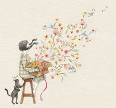 Yoga Cartoon, Future Wallpaper, Disney Images, Korean Artist, Art Journal Inspiration, Children's Book Illustration, Art Boards, Schmidt, Cute Art
