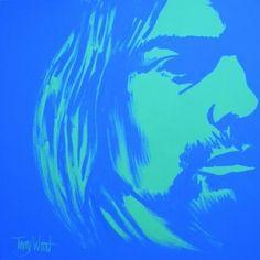 """Kurt Cobain"" by Terry Wood"