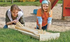 Kegelbahn bauen: Schritt 1 von 12