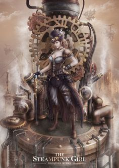 steampunksteampunk:Monsters Works