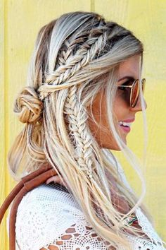 These are the cutest braided bohemian hairstyles you need to try!