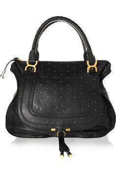 A very non-boring Chloé black bag. Le sigh.