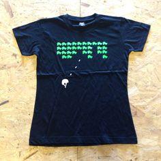 Skate Invader T-Shirt, £16.00 by Roller Derby City