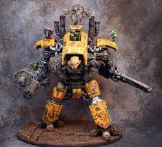 Warhammer 40k Ork Converted Renegade Knights - Imgur