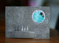 Hallo Ihr Lieben,   ich versuche ja gerne mal etwas Neues aus. Helle Karten zu Weihnachten gehen ja immer, aber warum nicht mal gra...