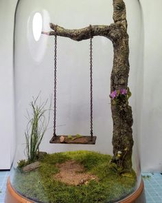 37 DIY Miniature Fairy Garden Ideas To Bring Magic To Your Home # . - 37 DIY miniature fairy garden ideas to bring magic into your home - Fairy Garden Plants, Fairy Garden Furniture, Mini Fairy Garden, Fairy Garden Houses, Gnome Garden, Diy Fairy House, Fairy Gardening, Garden Gazebo, Dragon Garden