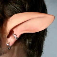 Faun Ears from Aradani Studios - They sell all kins of prosthetic ears, horns and other products.