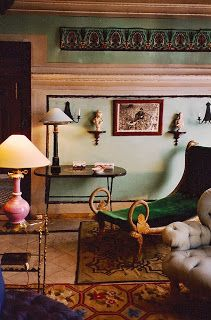 the style saloniste: MADELEINE CASTAING: Distinctive Paint Colors
