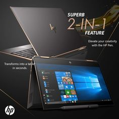 HP Spectre is a brand new release 2019 model touchscreen laptop and tablet in one with a cutting edge gem Best Buy Electronics, Electronics Storage, Kids Electronics, Laptop Brands, Hp Computers, Hp Spectre, Best Pc, Cool Technology, Electronic Gifts