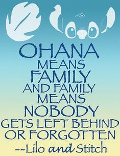 Lilo and Stitch quote Happy Quotes, True Quotes, Best Quotes, Positive Quotes, Disney Family Quotes, Lilo And Stitch Quotes, Lilo Stitch, Breakup Humor, Love Breakup