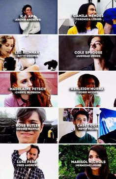 The cast of Riverdale  Comment your favourite character??
