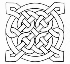 free printable celtic knot patterns: