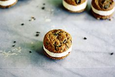 oatmeal peanut butter cookies (or ice cream sandwiches)