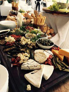 Grazing table at Kim and Matt's wedding