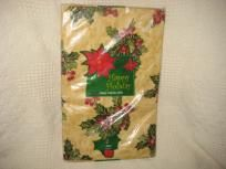 "HOLIDAY TABLE CLOTH 60"" RD."