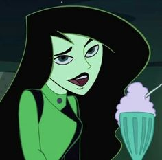 Find images and videos about disney, cartoon and kim possible on We Heart It - the app to get lost in what you love. 90s Cartoons, Cartoon Memes, Cartoon Icons, Girl Cartoon, Cute Cartoon, Cartoon Characters, Green Characters, Character Aesthetic, Aesthetic Anime