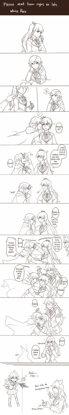 White rose comic by xenon54165 on DeviantArt