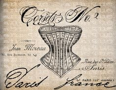 french corset ad   French Corset Ad
