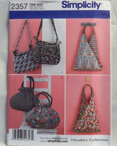 Pre-Quilted Fabric Bags & Tote Simplicity 2551 Sewing by blue510 ... : pre quilted fabric patterns - Adamdwight.com