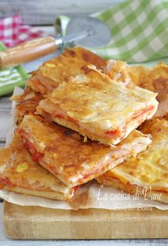 Best Italian Recipes, Favorite Recipes, Easy Cooking, Cooking Recipes, Focaccia Pizza, Easy Holiday Recipes, Best Party Food, Snacks, Finger Foods