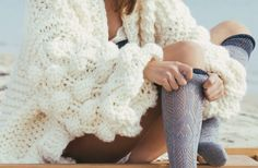 Meet the WarmUp super fluffy, chunky knit cardigan! Unique designed sleeves and relaxed fit to cuddle with on the chilly days and cooler nights.