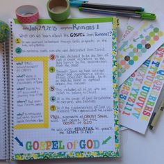 This kit combines two of Farm Girl Journals best sellers - our Bible Journals and Prayer Journals into one awesome journal! It meshes the… Romans Bible Study, Soap Bible Study, Bible Study Notebook, Bible Study Journal, Scripture Study, Prayer Journals, Scripture Doodle, Bible Study Plans, Journal Prompts