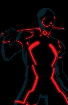 23 TRON Style Marvel Characters by Kristafer Anka — GeekTyrant