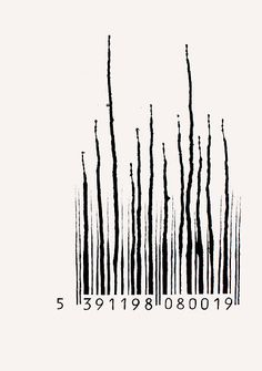 I love when artists turn the barcode graphic in addition to their design.  Brilliant.