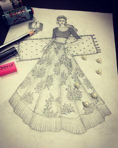 Fashion Illustration Sketches, Fashion Design Sketches, Sketchbooks, Baby Dress, Aurora Sleeping Beauty, Bridal, Disney Princess, Disney Characters, Drawings