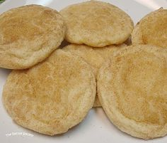 Snickerdoodles -- from the Lion House cookbook .