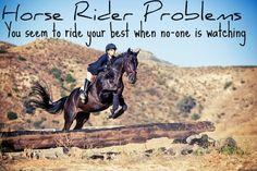 Horse Rider Problems