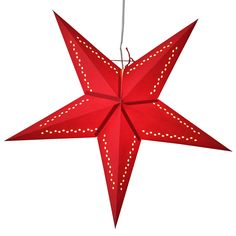 Raindrop red star lanterns http://www.29june.com/index.php/paper-stars.html
