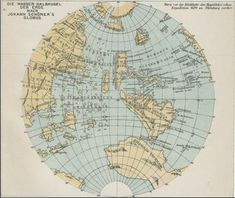 The Schoner globe of 1520 continued to show South America as an island