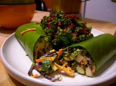Coconut Curry Wraps