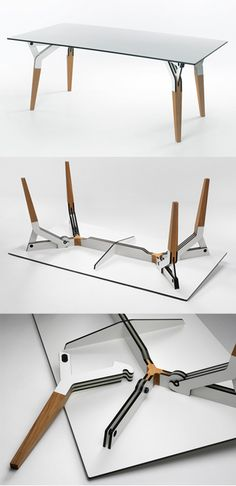 The Kataba table is a Dutch design table available for sale on Dutch Design Only. See more Dutch designer furniture by PeliDesign. Plywood Furniture, Furniture Projects, Cool Furniture, Furniture Design, Wood Design, Design Table, Furniture Inspiration, Contemporary Furniture, Japanese Table