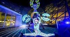 Vertigo artists and KVANT lasers at the grand opening of BORY mall, Bratislava, november Laser Show, Display Technologies, Bratislava, Event Photos, Shows, Opening Ceremony, Grand Opening, Mall, Fair Grounds