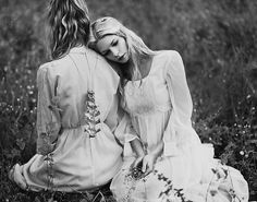 by rockie nolan, models: molly strohl + cassandra white