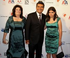 George Lopez Ann Lopez (L), actor George Lopez and their daughter attend the 30th annual The Gift of Life Celebration at the Beverly Wilshir...