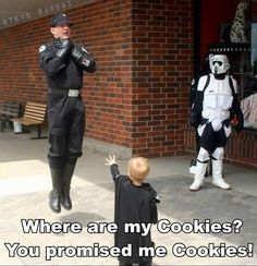 yea where are the cookies?