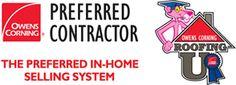 Pink Panther Roofing U Selling Logo