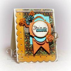 Sankari's Sunshine Corner: Verve Diva Inspiration Hop: World Card Making Day Edition!