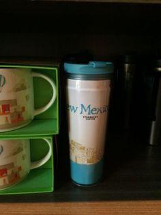 New Starbucks Travel Tumbler NEW MEXICO Commuter City Global Icon Coffee Mug