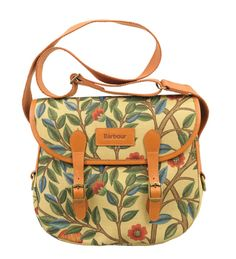 BARBOUR. 'Reiver' bag with William Morris print design.